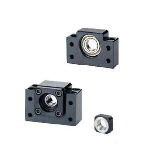 3 lead ball screws ballscrews 3 BK//BF12 set bearing mounts end supports