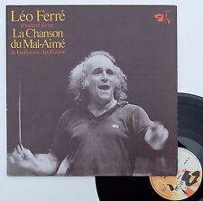 """Vinyle 33T Léo Ferré  """"La chanson du mal-aimé"""""""