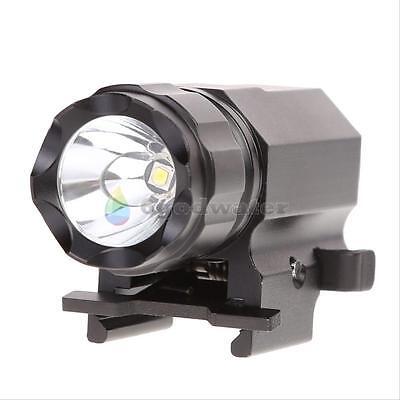 Tactical 800LM XPG-R5 LED Pistol Gun Light Lamp Handgun Torch Flashlight Black