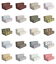ambesonne vintage motifs hr foam portable mattress & fabric cover in 3 sizes