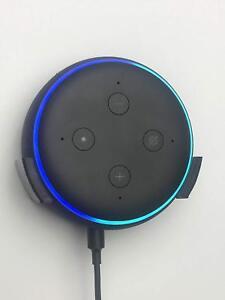 Wall-Bracket-Mount-For-Echo-Dot-3rd-Generation-3-Gen-In-Black