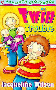 Twin-Trouble-Mammoth-storybook-Wilson-Jacqueline-Acceptable-Fast-Deliver