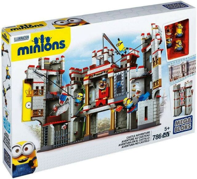 mega bloks minions castle adventure set 38029