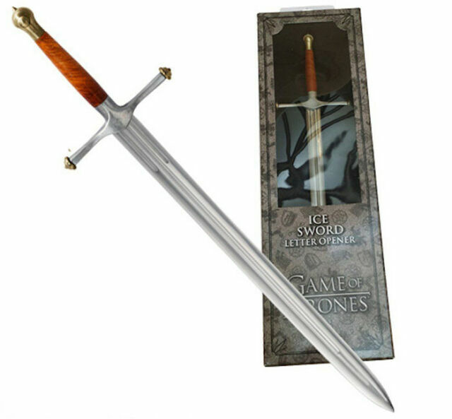 NOBLE COLLECTION GAME OF THRONES ICE LETTER OPENER