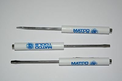 PROMOTIONAL MATCO TOOLS POCKET FLAT SCREWDRIVER WITH MAGNET TOP TOOL 2 PACK NEW