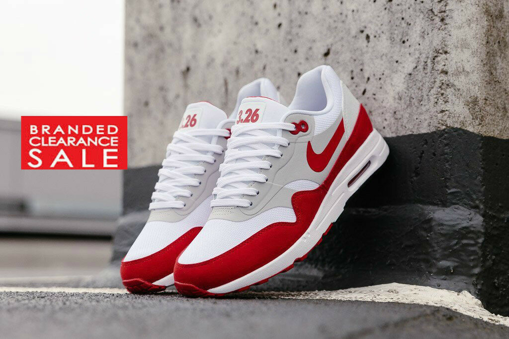 BNIB New Damens Nike Air Ultra Max 1 Ultra Air 2.0 LE 3.29 Anniversary ROT Größe 4 5 6 uk f3a702