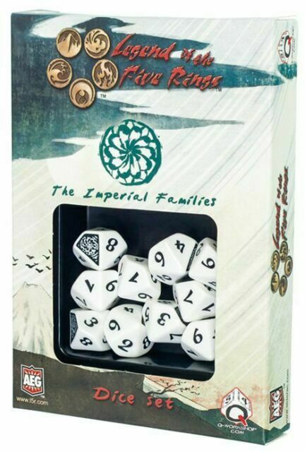 10 Legend of the Five Rings Imperial Families 10D10 Dice