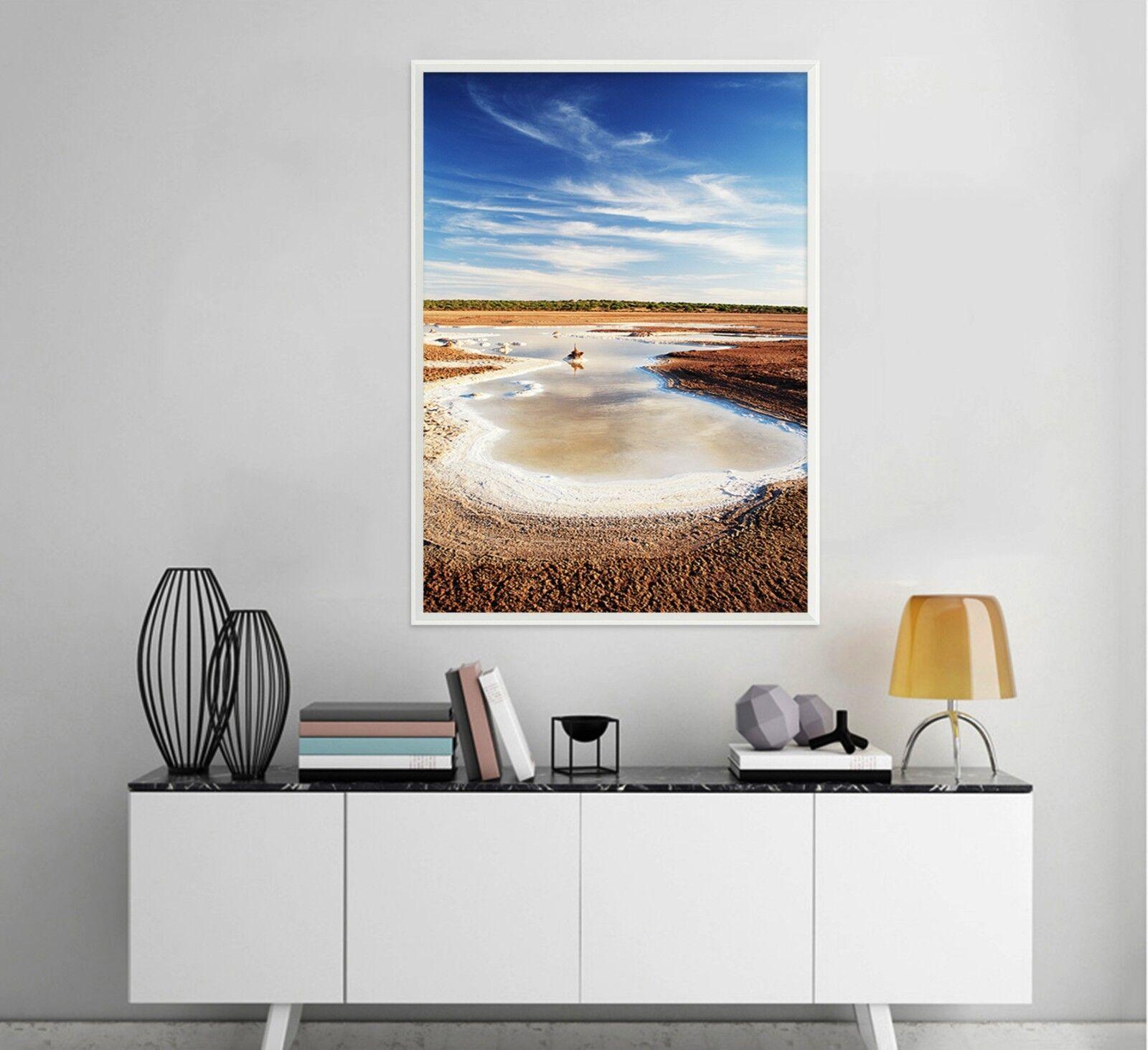 3D Desert Dead Sea 2 Framed Poster Home Decor Print Painting Art AJ WALLPAPER