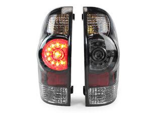 DEPO JDM Facelift Look Black LED Rear Tail Lights For 05-14 Toyota Tacoma Pickup