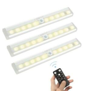 Details About Closet Light Battery Operated Wireless Remote Control Led Under Cabinet Lighting