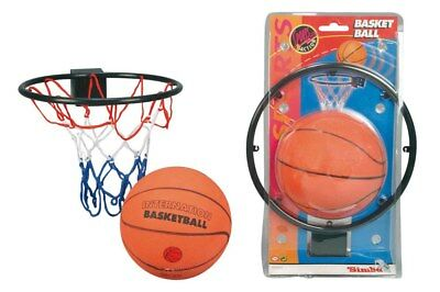 Simba Basketball Set Ball mit Korb und Netz für Zimmer Tür Spiel Kinder Spiel