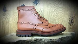 TRICKERS //// Malton //// Handmade C-Shade Derby Brogue Boots //// REDUCED!!!