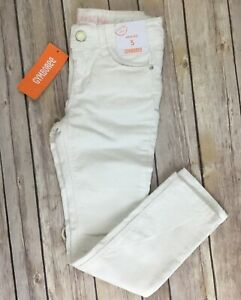 GYMBOREE-Pants-Size-5-Girls-Ivory-Sparkle-Corduroy-Skinny-COZY-FAIRYTALE-new-NWT