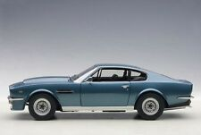 1985 Aston Martin V8 Vantage Chichester Blue 1/18 by Autoart 70223 From Japan