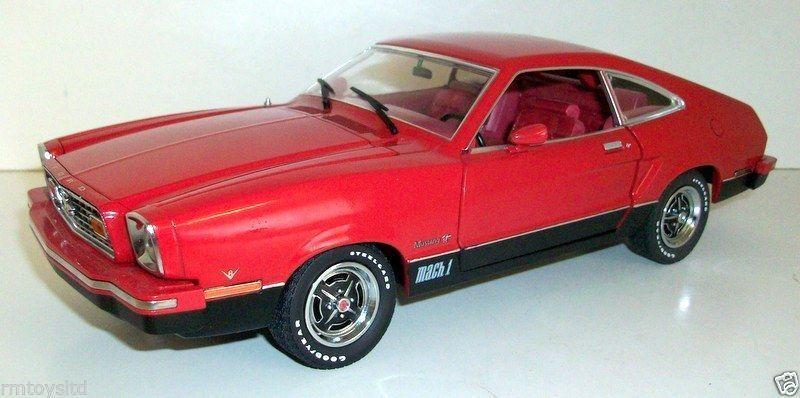 punto de venta de la marca verdelight 1 18 - 12867 1976 Ford Mustang Ii Ii Ii Mach 1-Rojo  selección larga