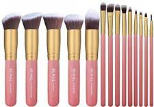 BS-MALL New 14 Pcs Premium Synthetic Kabuki Makeup Brush Set Cosmetics Blending