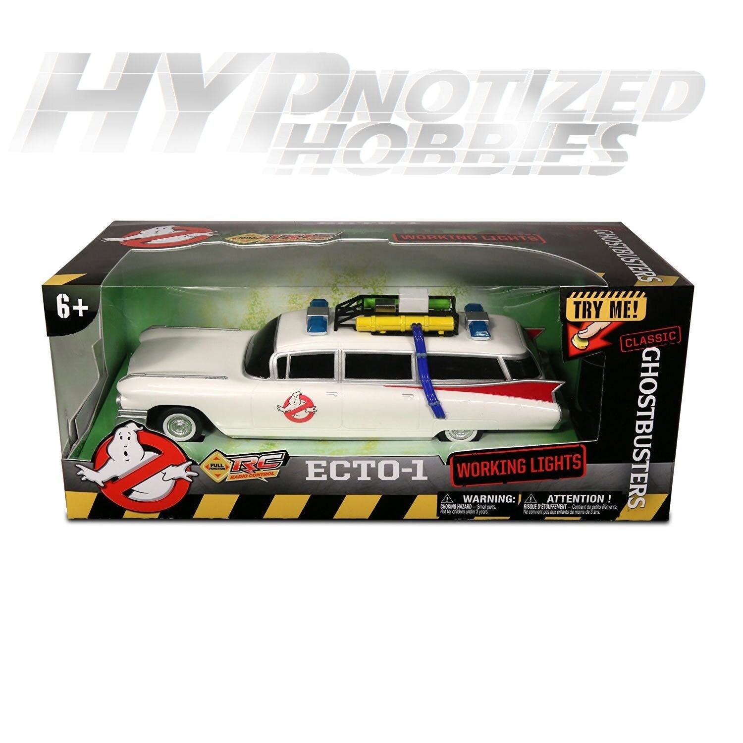 GHOSTBUSTERS ECTO-1 CLASSIC 1 14 REMOTE CONTROL CAR    6612