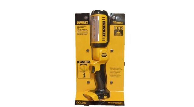 Dewalt DCL050 20V Cordless LED Battery Light, MAX Lamp, Floodlight