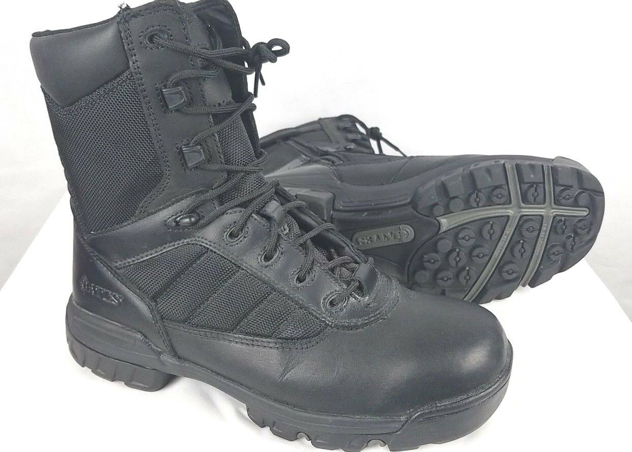 Mens SZ 8.5 M BATES 2261 ULTRA-LITE Tactical Military Combat Black Boots E02261