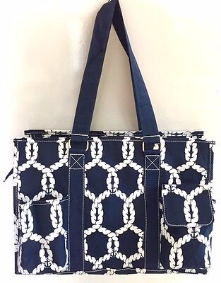 Multi Pocket Organizer Tote Bag Nurses Teachers Moms Love Them! Canvas Handbag | eBay
