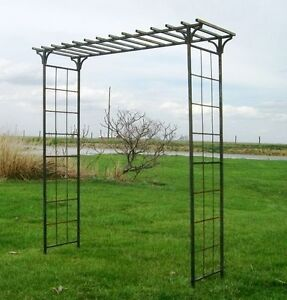 92 wide x 1015 tall Mission Arbor Great Metal Garden Arch
