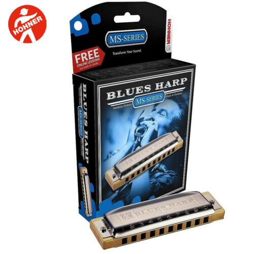 NEW Hohner Blues Harp Diatonic 532BX-D Key of D Harmonica Made In Germany
