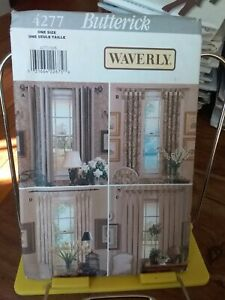 Oop-Butterick-Waverly-4277-window-panels-four-styles-NEW