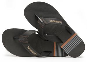 3b3fcdd65 Havaianas Men`s Brazilian Flip Flops Urban Craft Sandals Black Any ...