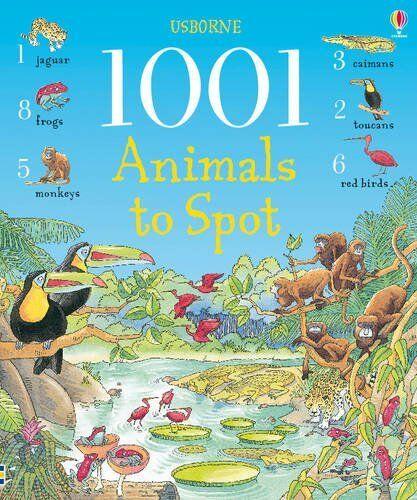 1001 Animals to Spot (1001 Things to Spot),Ruth Brocklehurst, Teri Gower