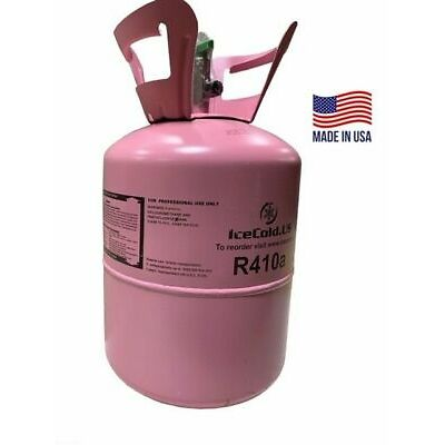 (2) R410a, R410a Refrigerant 25lb tank. New Factory Sealed ( Made in USA)