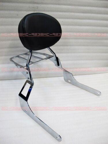 Backrest Sissy Bar for Suzuki Boulevard C109R C109RT 08 09 10 m8#Cr