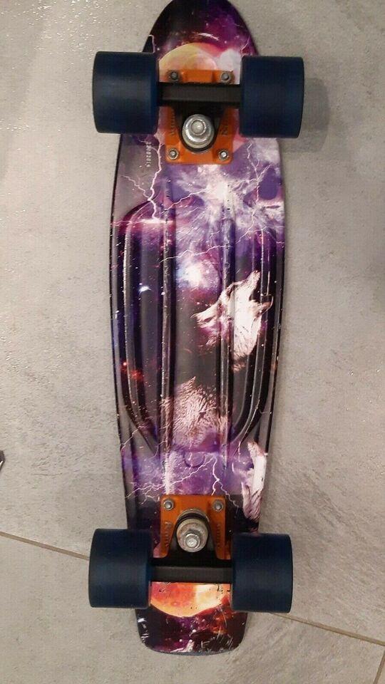 "Skateboard, Penny Space 22"" Skateboard, str. 22 tommer"