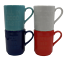 4-Kate-Spade-All-In-Good-Taste-Stacking-Mugs-Lenox-Blue-Red-White-Teal-Set thumbnail 2