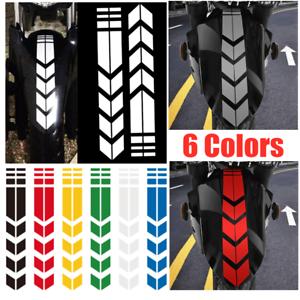 Motorcycle reflective sticker car wheel decals on fender waterproof decoratio ..