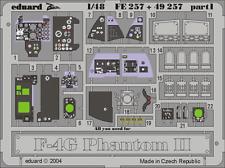 Eduard Zoom fe257 1/48 Hasegawa f-4g PHANTOM II