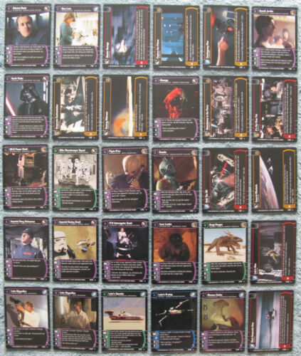Star Wars TCG A New Hope Rare Cards Part 1//2 ANH