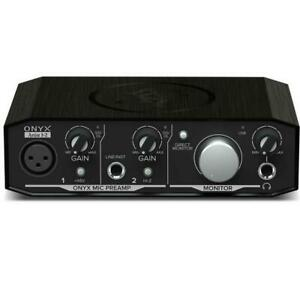 Mackie ONYX Artist 1•2 USB Interface 2-In x 2-Out Canada Preview
