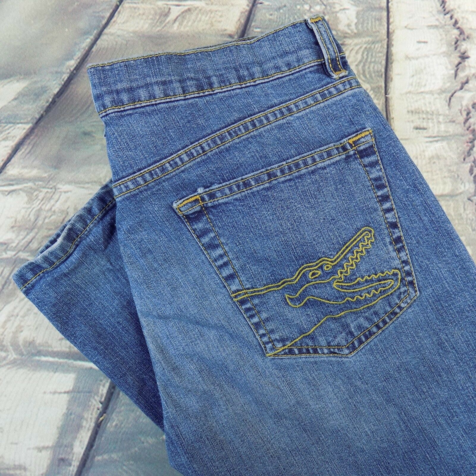 Lacoste Jeans Bootcut Size 30 L Women's Sz 30 33