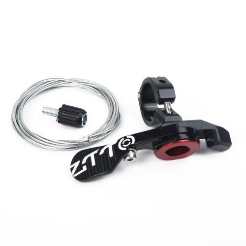 Seat post Remote lever Dropper 1pc 41g Black Sealed bearing Handlebar Bicycle