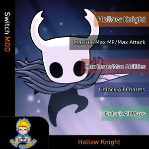 Hollow-Knight-Switch-Mod-Max-HP-MP-ATK-Items-Abilities-Unlock-All-Charms-Maps