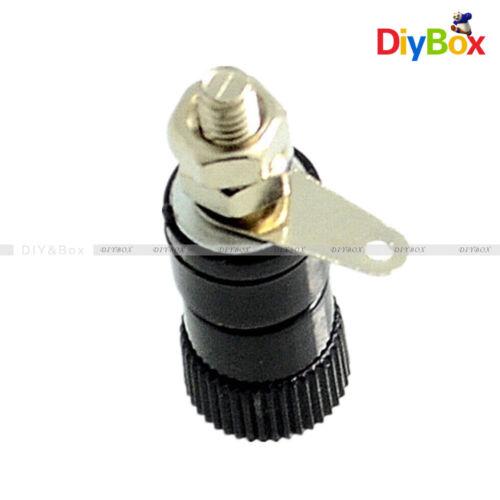 4PCS JS-910B 4mm Banana Plug Jack Socket Female Binding Post for Speaker Audio