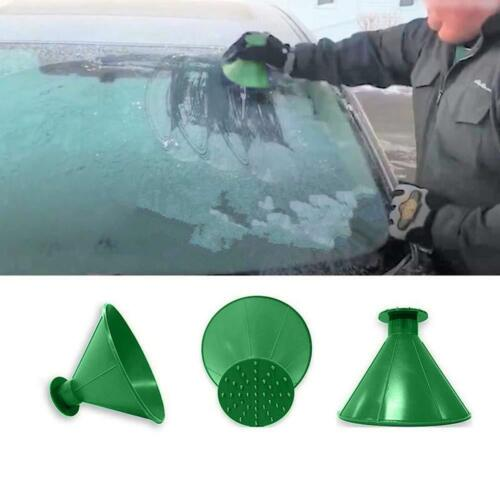 Car Windshield Ice Scraper Snow Remover Shovel Window Glass Clean Wiper Green