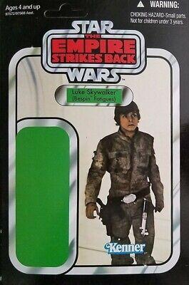 Hasbro SDCC Star Wars OTC Luke Bespin Action Figure Promo Proof Cardback Mint!