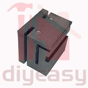 Nylon Guide Block Sliding Gate 75mm Black