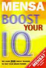 Mensa: Boost Your IQ by Harold Gale, Carolyn Skitt (Paperback, 1997)