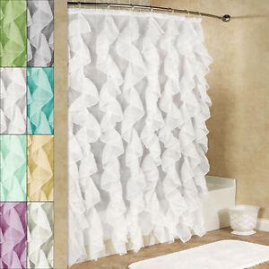 Cascade-Chic-Sheer-Voile-Vertical-Waterfall-Ruffled-Shower-Curtain-70-034-x-72-034