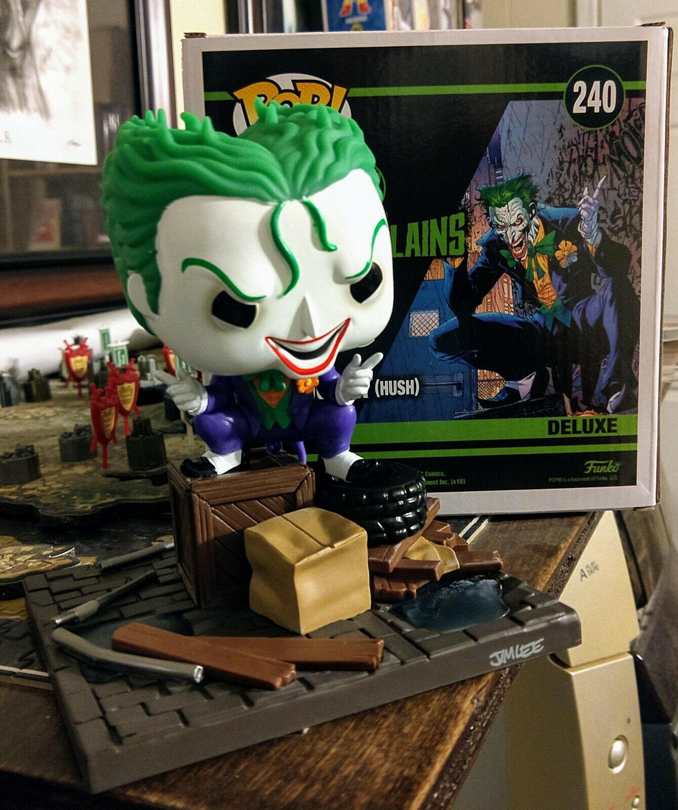 Diverdeimentoko pop The Joker hush 240 Dc collection jim lee  deluxe super villains cifra  liquidazione fino al 70%