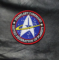 Starfleet Command Ufo Planets Star Wars 3.0 Inch Iron On Patch