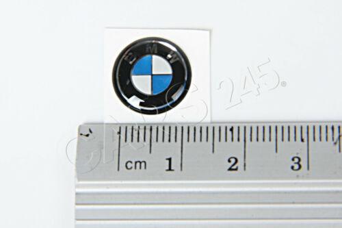 Genuine BMW E46 Cabrio Compact Coupe Sedan Key Emblem 11mm OEM 66122155753