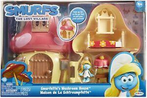 Smurfs-Mushroom-House-Playset-with-Smurfette-Jakks